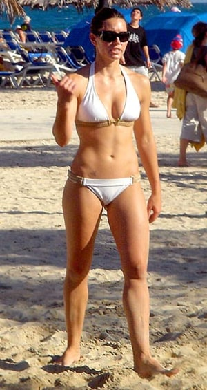 Right! Idea jessica biel abs