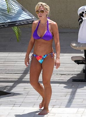 Kate Gosselin Wears Bikini During Mexico Trip With