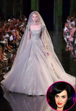 All The Details On Katy Perry S Wedding Dress Us Weekly