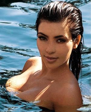 Kim Kardashian Flashback Photo: Remember When I Got Naked