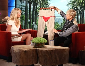 kate upton dating mark sanchez ellen degeneres teases