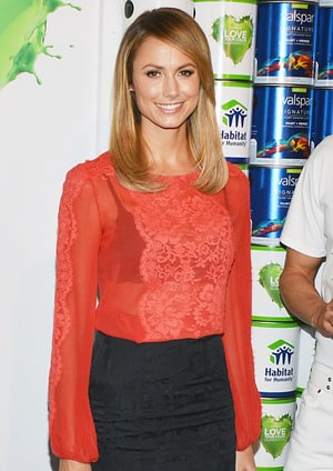 Stacy Keibler S Pre Red Carpet Routine Us Weekly