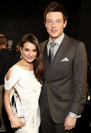lea michele and cory monteith dating engaged Former glee star lea michele has flashed her huge engagement ring on have been dating since period in which she lost her boyfriend cory monteith.