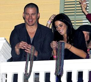 tvshowbiz article Channing Tatum explains stripper posing old fashioned GQ photo shoot.
