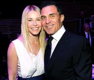 Chelsea Handler and Andre Balazs attends the TIME 100 Gala celebrating ...