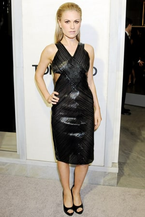 Anna Paquin Reveals Skinny Post-Baby Body in Sexy Cutout Dress Five ...  Anna Paquin