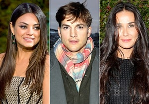 how did ashton kutcher meet demi moore