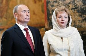 Vladimir Putin Divorcing Wife Lyudmila: