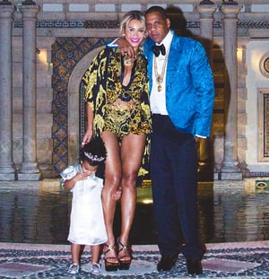 Beyonce Celebrates New Year's Eve With Jay Z, Blue Ivy ...