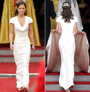 Pippa Middleton Royal Wedding Dress Fit Too Well Makes