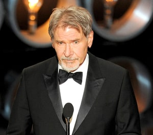Harrison Ford, 71, Shows Off Pierced Ear at Oscars 2014: Picture - Us Weekly  Harrison