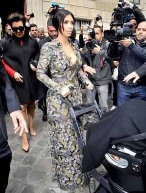 Kim Kardashian Heads to Pre-Wedding Brunch Hosted by Valentino: See ...