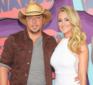 Jason Aldean and Brittany Kerr have