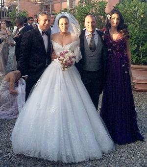 George Clooney, Amal Alamuddin Attend Wedding Together ...