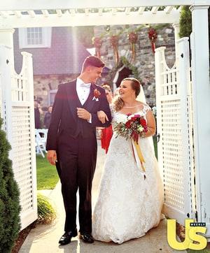 celebrity news catelynn lowell tyler baltierras wedding dress
