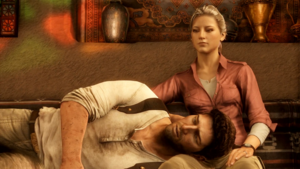 Uncharted 3 Drake and Elena