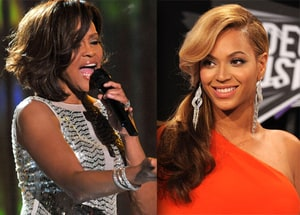 beyonce, whitney houston