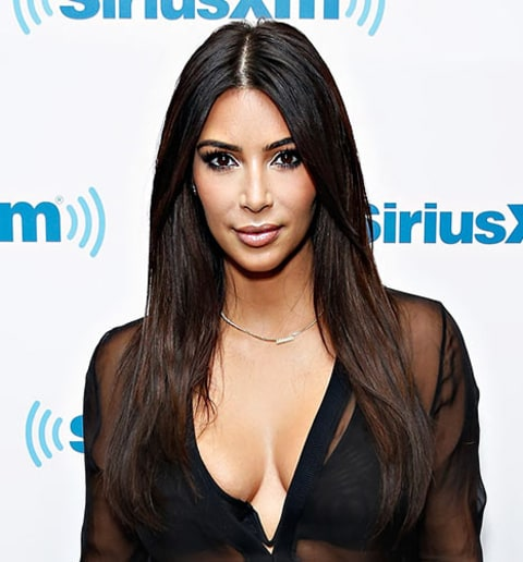 Kim Kardashian longer hair
