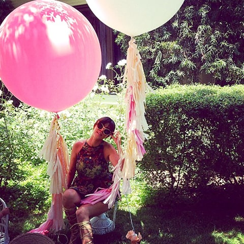 kourtney kardashian penelope party