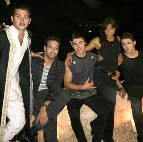 Mohammed Al Turki, zac efron and michelle rodriguez