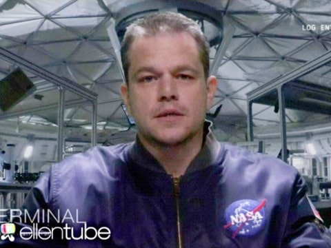 Matt Damon Spoof