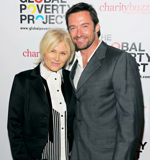 Deborah-Lee Furness and Hugh Jackman