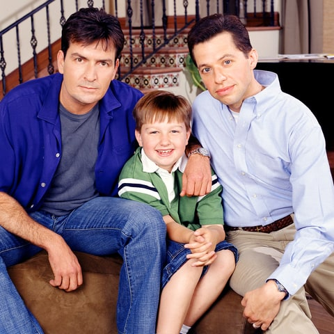 Charlie Sheen, Angus T. Jones and Jon Cryer
