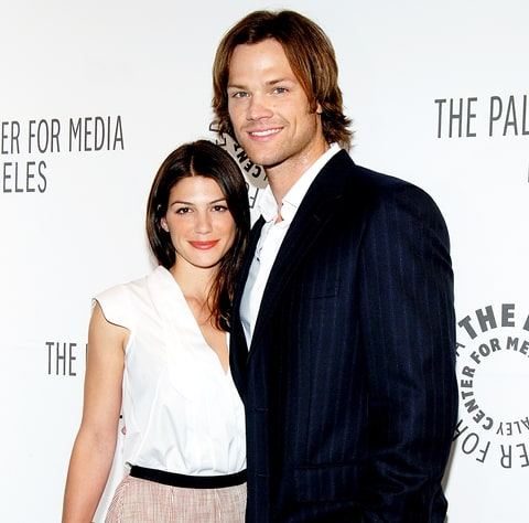Genevieve Cortese and Jared Padalecki