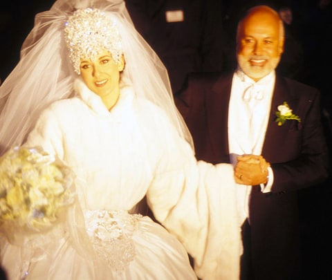 Céline Dion and Rene Angelil