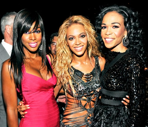 Kelly Rowland, Beyonce and Michelle Williams