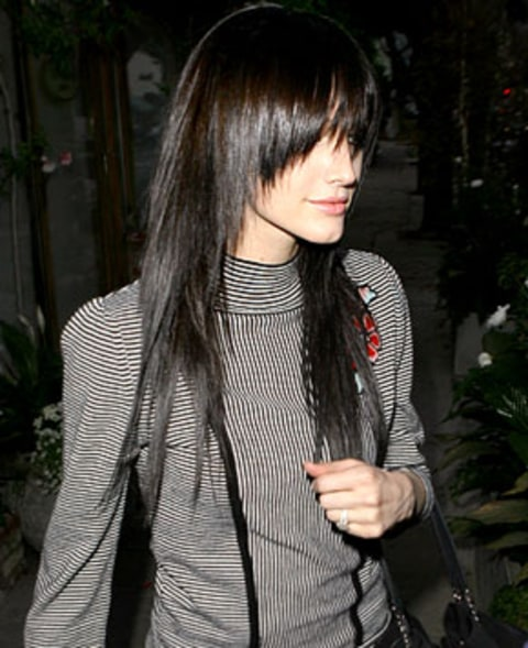 pics for gt ashlee simpson short black hair