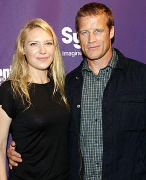 Anna Torv and husband