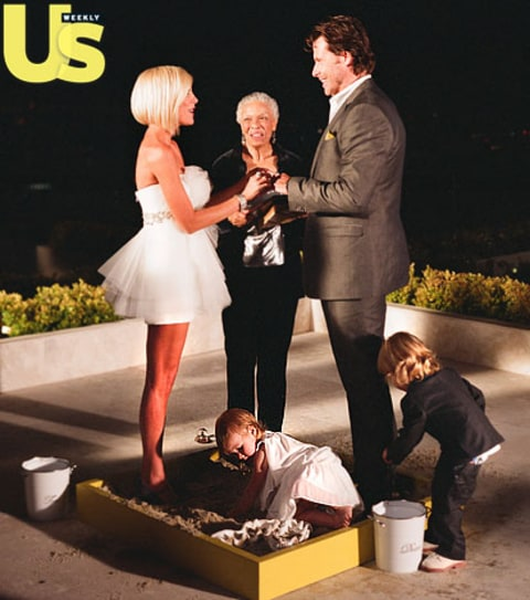 Celebrity Wedding Vows Examples: Tori Spelling And Dean McDermott Vow Renewal