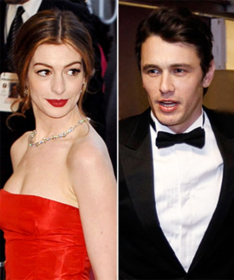 "Anne Hathaway James Franco: Source: Anne Hathaway, James Franco ""Hate Each Other"""