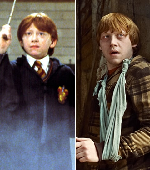 Credit: Warner Bros/Courtesy Everett Collection; Courtesy ... Rupert Grint Today