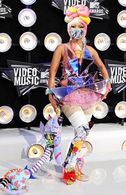 Nicki Minaj 2011 Mtv Vmas Worst Dressed Stars Us Weekly