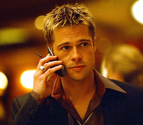 Ocean S Eleven Brad Pitt S Sexy Movie Looks Us Weekly