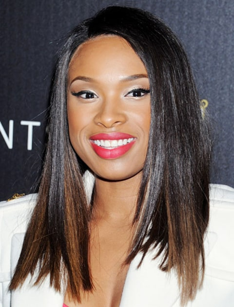 Pin Straight And Shiny Celeb Inspired Holiday Hairstyles