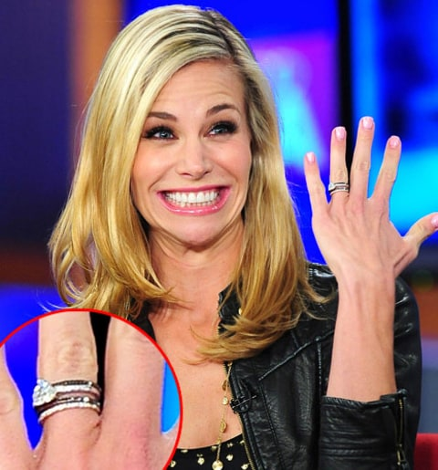 Baywatchs Brooke Burns 70000 Engagement Ring All The Details
