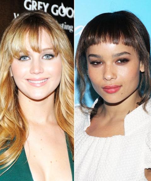 Zoe Kravitz Jennifer Lawrence Friends