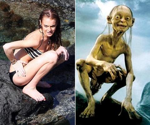 Gollum | Lindsay Lohan Look-Alikes | Us Weekly