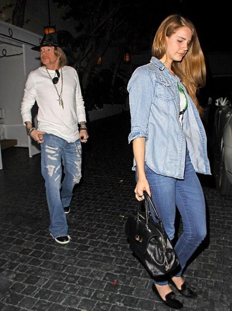 is axl rose dating lana del rey us weekly