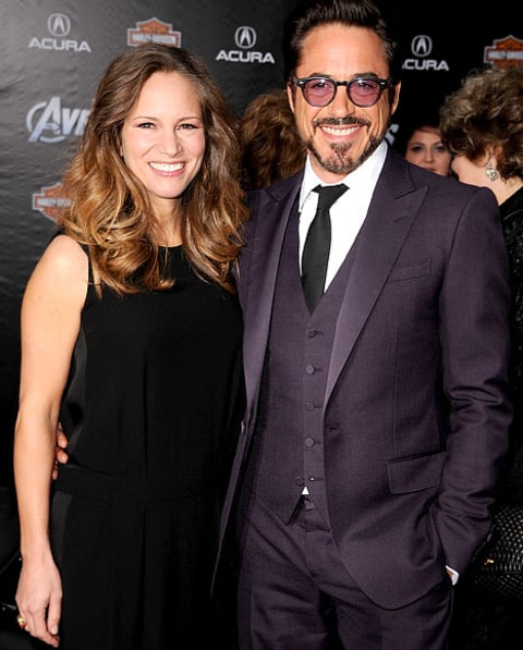 Robert Downey Jr Wife: Robert Downey Jr., Wife Susan Enjoy First Night Out Since