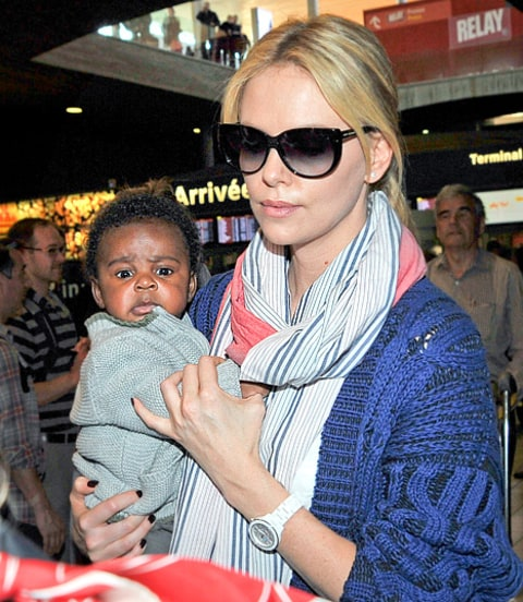 Meet Charlize Theron's Baby Boy Jackson! - Us Weekly Charlize Theron Son