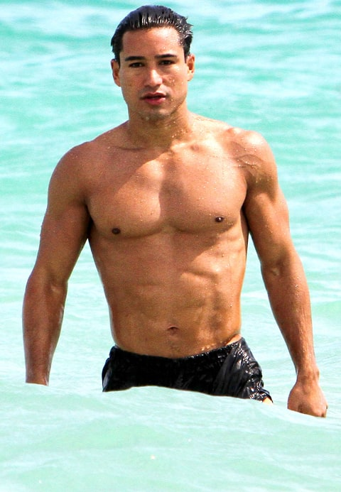 Mario Lopez Sexy Shirtless Stars Us Weekly