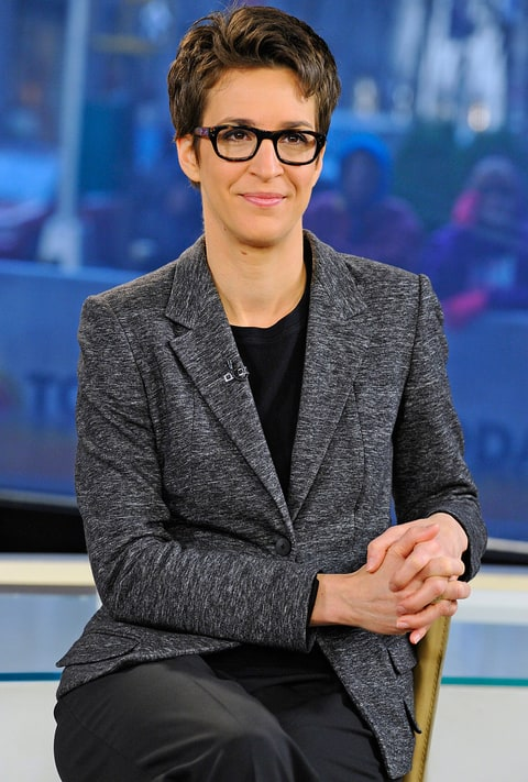 rachel maddow show news unique approach polling