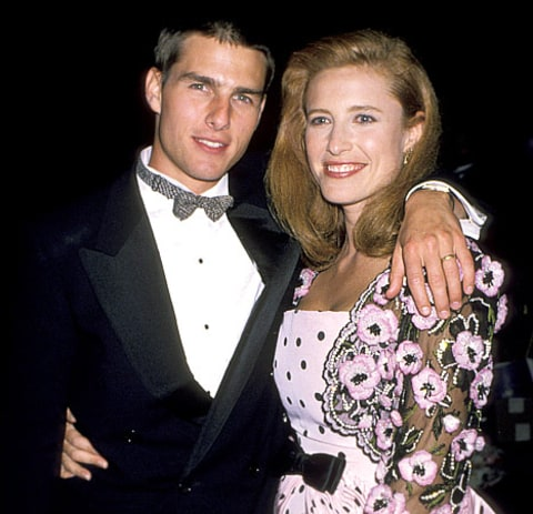 Tom Cruise and Mimi Rogers Credit: Jim Smeal/WireImage.com Katie Holmes Divorce Scientology
