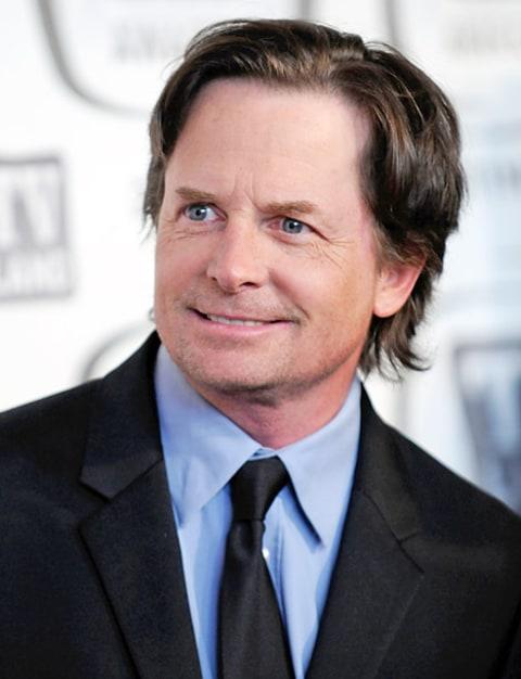 Michael J. Fox on Apri...