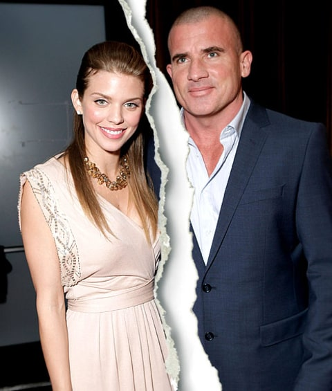 AnnaLynne McCord, 25, and Dominic Purcell, 42, Split After ... Dominic Purcell And Annalynne Mccord