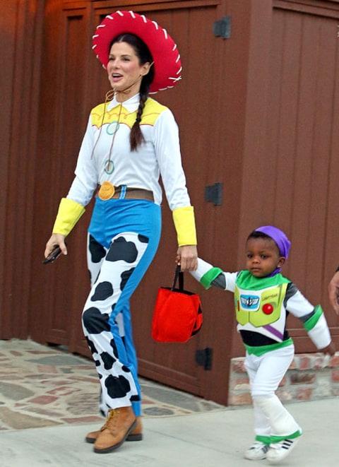 Sandra Bullock Kids